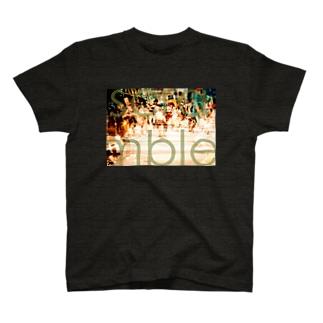 スクランブル交差点 T-shirts