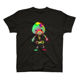 ドクロちゃん(異色) T-shirts