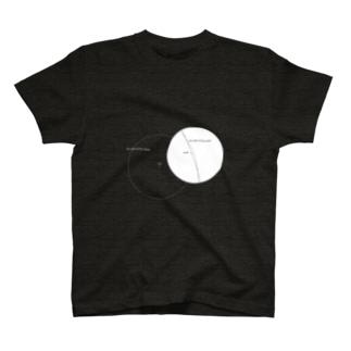 月の軌道 T-shirts