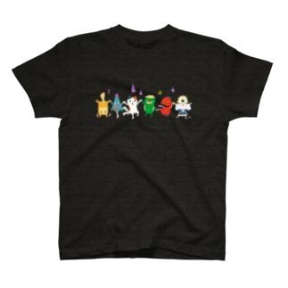 おばけTシャツ<妖怪ラインダンス> T-shirts