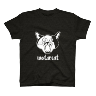 (モーターキャット)フロントプリント T-shirts