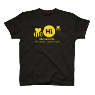 【チャリティ】HiVE | CRE8Rs Tシャツ (YLWプリント) T-shirts