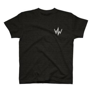 KAWロゴ(濃色ver) T-shirts