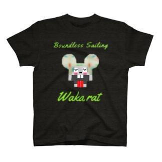 keihammのWaka rat 1 T-shirts