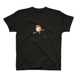 DOTEKKOの-MOZU No.2- Bird call  T-shirts