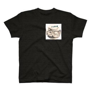 ノッチら号オリジナルアイコン(表バージョン) T-shirts