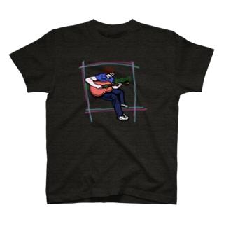 弾かせろ(ギター) T-shirts