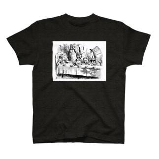 不思議の国のアリス A Mad Tea-Party T-shirts