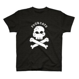 FOURCATS T-shirts