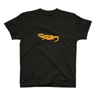 """おかゆちゃんDENIMSのフトアゴヒゲトカゲ学名""""Pogona vitticeps""""T-Shirt T-shirts"""