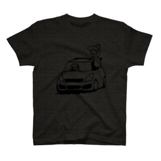 不遇の32(モノクロ) T-shirts