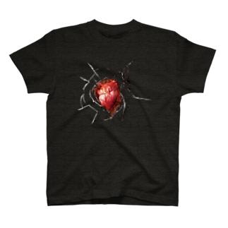 心を撃たれたときに着るやつ T-shirts