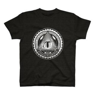 Nyalluminati(ニャルミナティー)Tシャツ ホワイト T-Shirt