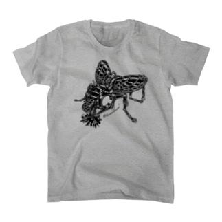 """Animalia Kinky """" Black Fly """" Tシャツ"""