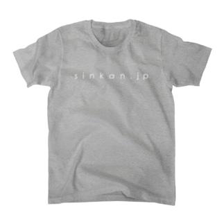 新刊JPのグッズ@url-white Tシャツ