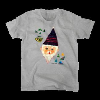 サンカクじいさん Tシャツ