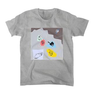 5cats Tシャツ