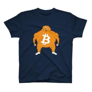 ビットコイン君 Tシャツ