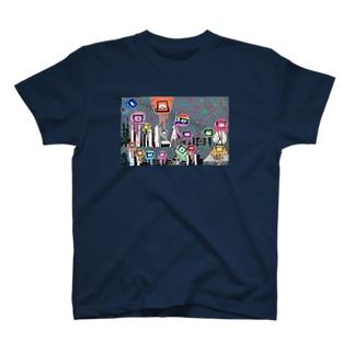 Tokyo City a.k.a. Eyes cream City Tシャツ
