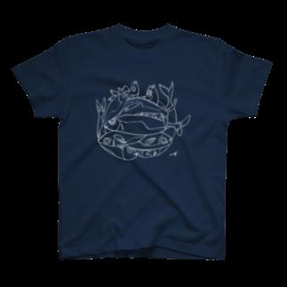 megumiillustrationのAJI Tシャツ