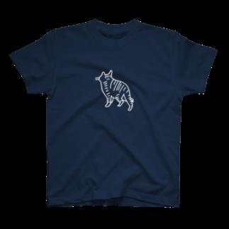 megumiillustrationのnekostalker Tシャツ