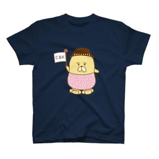 Create & Kagoshima おじゃもんくん Tシャツ