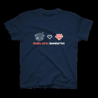 Rails Girls JapanのRails Girls Sendai 1st Tシャツ