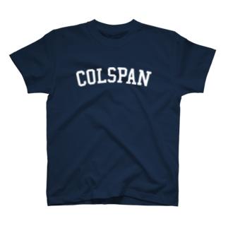 COLSPAN Tシャツ