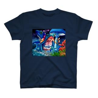 原始的生命 Tシャツ