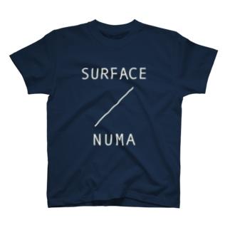 SURFACE TEE(NUMA WHITE) Tシャツ