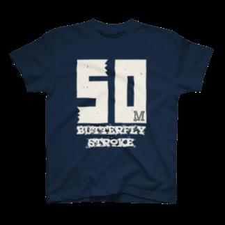 shop_imの50mButterflyStroke Tシャツ