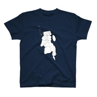 遠足前日症候群 Tシャツ