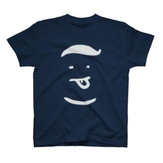 コロンピさんのTシャツ(ホワイトロゴ) Tシャツ