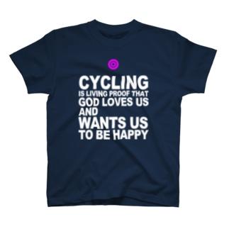 サイクリング万歳 Tシャツ