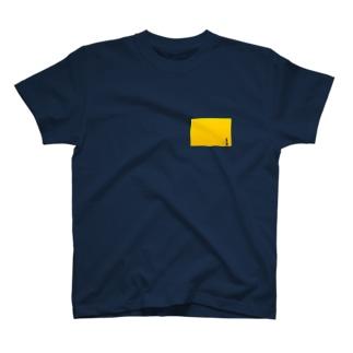 私、出勤中ですの Tシャツ