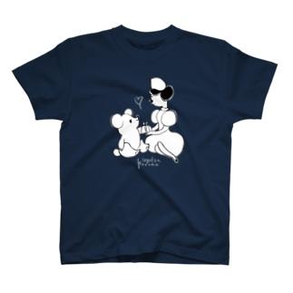 ナースとくま(♡抜き) Tシャツ