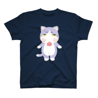 ジトにゃん(ハチワレ) Tシャツ