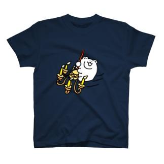 シャンデリくま Tシャツ