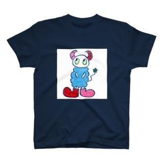 a:kumoシリーズ_スクエア Tシャツ