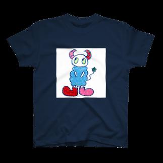 space a:kumoのa:kumoシリーズ_スクエア Tシャツ