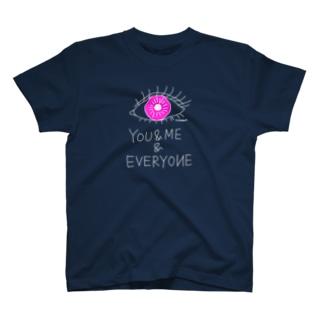 あなたと僕と誰でも Tシャツ