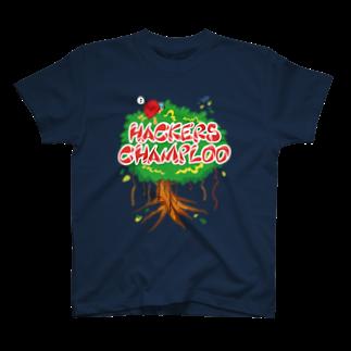 ハッカーズチャンプルーのハッカーズチャンプルー ガジュマルTシャツ