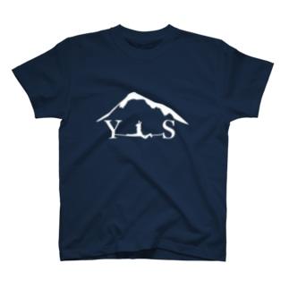 YSスプレッド-ホワイト Tシャツ