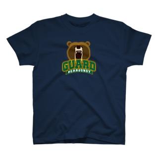 くま警備員 Tシャツ