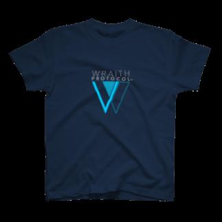 仮想通貨Verge Japan(バージ ジャパン) 公認SHOPのWRAITH PROTOCOL(レイス・プロトコル)ロゴTシャツ