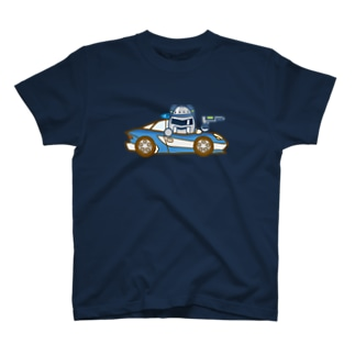 ジャンバラヤくんの高速パトカー Tシャツ
