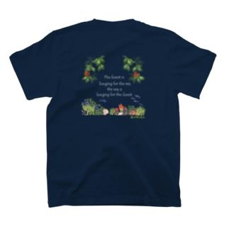 NPO森は海の恋人寄付グッズ T-shirts