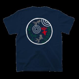 ジャパニーズスタンダードの金魚・丸 T-shirts