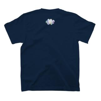 もくもく雲T(※うしろにもワンポイントあり) T-shirts
