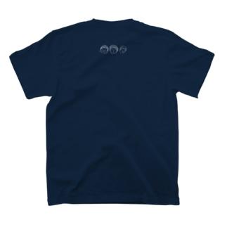卜モヤの肉マンガール T-shirtsの裏面